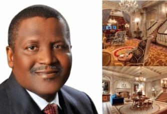 Aliko Dangote: Découvrez en photos la maison de l'homme le plus riche d'Afrique