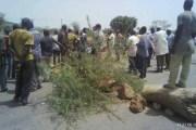 Kaya : Des militants du MPP bloquent l'axe routier Ouagadougou-Dori
