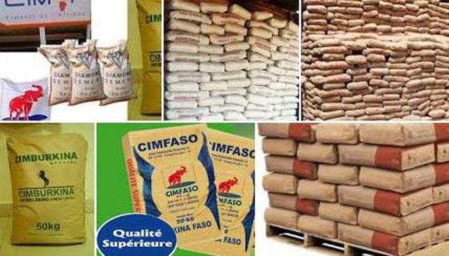 burkina faso le prix du ciment en baisse le sac de kg entre et f cfa netafrique. Black Bedroom Furniture Sets. Home Design Ideas