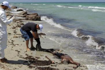 Libye: Les corps sans vie de 104 migrants découverts sur une plage
