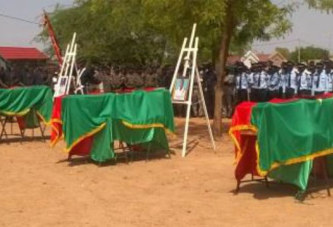 Attaque d'Intangom: les trois policiers tués reposent à Ouagadougou