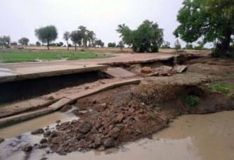 Région de l'Est : perte en vie humaine et dégâts, suite à une forte pluie dans la Gnagna