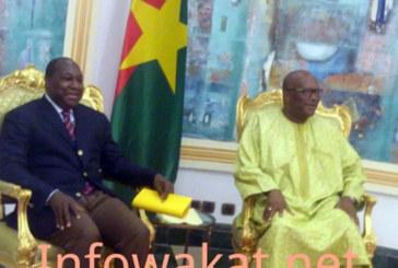 Audience du Président du Faso: Roch et Zeph ont parlé de la prochaine constitution