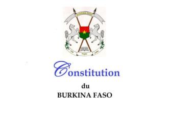 Burkina Faso: Avant-projet de Constitution de la 5ème République ou Constitution de la trahison?