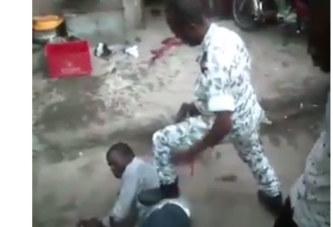 Affaire un policier abat un voleur: voici la vidéo qui a choqué et crée la polémique