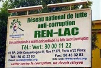 Burkina : Le RENLAC note une nette baisse de la corruption de 95% à 87%