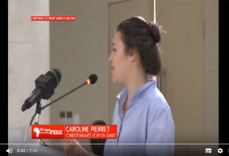 Vidéo – Une correspondante de RFI se fait humilier par le Président Alpha CONDE