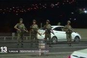 VIDEO. Turquie : retour sur la nuit du putsch raté