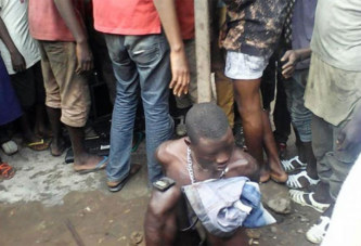 Absurde : le voleur se croyait invisible, il s'est fait arrêter tout nu!