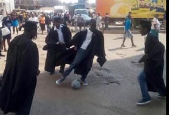 Zimbabwe: Des diplômés au chômage jouent au foot en pleine protestation pacifique