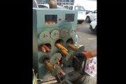 Les chinois fabriquent un appareil qui braise le maïs en un temps record