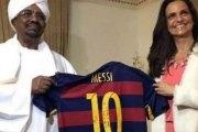 Soudan: Lionel Messi offre son maillot à Omar El-Béchir