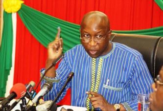 Burkina Faso:  Le Premier Ministre Paul Kaba Thiéba chasse publiquement les investisseurs