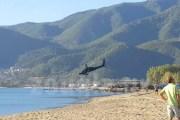 Crash d'un hélicoptère militaire dans la mer Égée (vidéo)