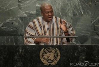 Ghana: A l'ONU, Mahama refuse la démocratie imposée aux pays africains et réclame une équité dans les affaires