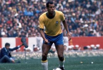 Le footballeur Carlos Alberto, Capitaine du Brésil champion du monde en 1970 est mort