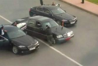 Casablanca: Le convoi du roi Mohamed VI de nouveau attaqué…Vidéo