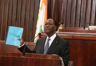 Projet de nouvelle Constitution: Un poste de vice-président pour «mettre notre pays à l'abri de l'incertitude» (Ouattara)