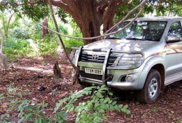 Urgent Braquage à Ouahigouya : le véhicule retrouvé au parc Bangr weogo (sécurité)