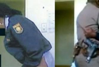 Scandale /Deux agents de police en tenue font l'impensable dans un hôpital (Vidéo) !!