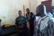 Robert Sangaré, le directeur général de Chuyo Yalgado Ouédraogo :