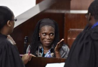 Côte d'Ivoire: Simone Gbagbo tente de se retirer en pleine audience et profère des injures