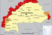 Nouvelle cartographie des zones à risque du Burkina Faso