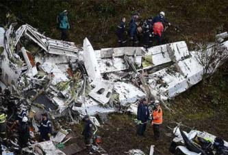 Drame/Chapecoense : Des erreurs humaines à l'origine du crash