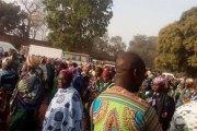 Bobo-Dioulasso: des agents de la municipalité marchent sur le Trésor public