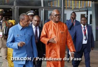 Le Président du Faso à Abuja