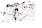 VIDEO. Trop pressée, une femme saute d'un avion