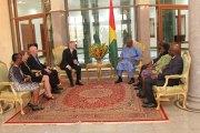Diplomatie : Le successeur de Tulinabo Mushingi présente ses lettres de créances au président Kaboré