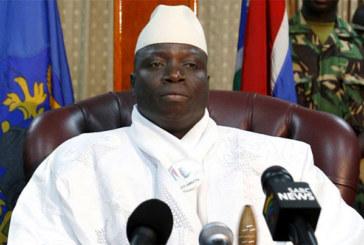 Yahya Jammeh à la télé: « Je suis prêt à mourir… »