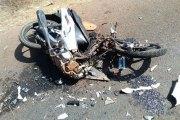 Komsilga - GARGHIN : Un camionneur tente de fuir la police et écrase un motocycliste