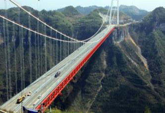 La Chine inaugure le pont le plus haut du monde (photos)
