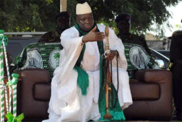 Jammeh interdit à Barrow de remettre les pieds en Gambie.