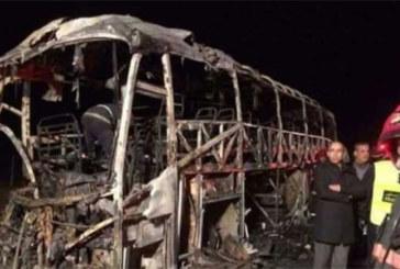Maroc : Une dizaine de personnes brûlent dans un accident de la route près d'Agadir
