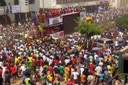 CAN 2017: les Etalons triomphalement accueillis à Ouaga