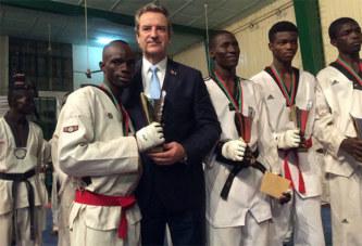 Taekwondo: La ville de Lisses à l'honneur à Ouagadougou