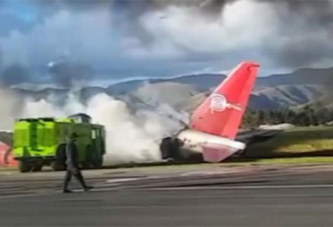 Vidéo – PÉROU : LES 141 PASSAGERS SURVIVENT AU CRASH