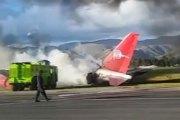 Vidéo - PÉROU : LES 141 PASSAGERS SURVIVENT AU CRASH