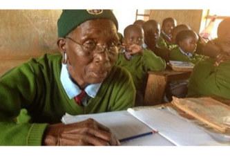 Kenya: A 90 ans, elle étudie dans même école primaire que ses 6 arrière-petits-enfants