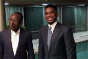 Samuel Eto'o reçu par le président Talon…les raisons !