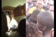 Kenya: une femme mariée retrouvée 'collée' avec son amant dans un hôtel (VIDÉO)
