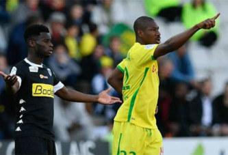 Football: Préjuce Nakoulma quitte le FC Nantes l'été prochain
