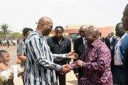 Burkina Faso: Le président du Ghana Nana Akufo Addo en visite de 48h à Ouagadougou