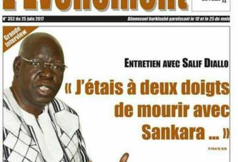 Salif Daillo «mourir avec Sankara»  Au delà du buzz, un fait: Blaise Compaoré était malade