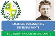 Rentrée scolaire 2017-2018: Le Lycée privé les Buissonnets (Internat mixte) vous ouvre ses portes