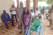 Solidarité: le MPP vole au secours de ses militants en situation de handicap