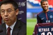 FC Barcelone : le président brise le silence…Il s'en prend à Neymar et au PSG!